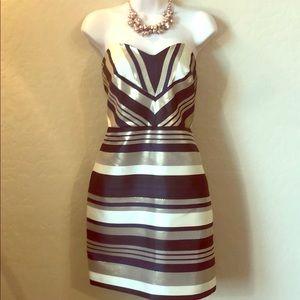 NWT Ann Taylor Strapless Dress Size 6